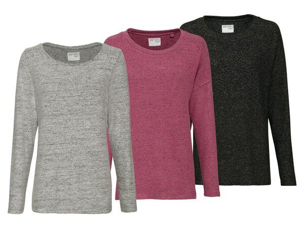 ESMARA® Lingerie Pullover Damen »Mix & Match«, mit Viskose und Elasthan