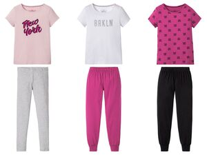PEPPERTS® Pyjama Mädchen, 2-teilig, mit Baumwolle