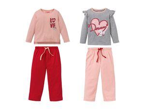 LUPILU® 2 Kleinkinder Mädchen Pyjamas