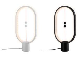 LIVARNO LUX® Tischleuchte »Balance«, 48 LEDs, magnetisches Kugelpaar, warmweißes Licht