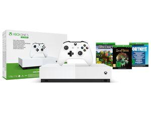 Microsoft Xbox One S 1TB - All Digital Edition
