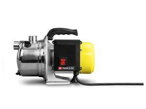 PARKSIDE® Gartenpumpen-Set »PGPS 1100«, 1100 Watt, 4 m Saugschlauch, mit Rückfluss-Stopp