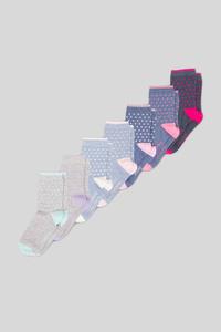 C&A Socken-7 Paar, Grau, Größe: 31-33