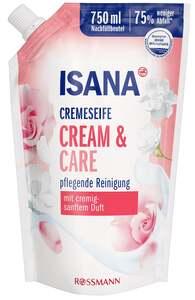 ISANA Cremeseife Cream & Care