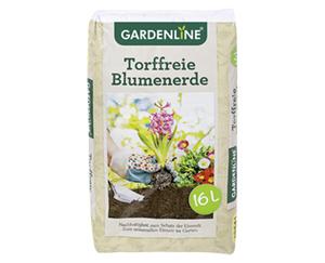 GARDENLINE®  Torffreie Blumenerde