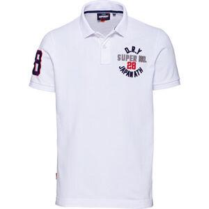 Superdry Poloshirt, Stickereien, für Herren