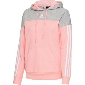 adidas Sweatshirt, Kapuze, Kängurutasche, für Damen