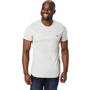 Levi's® T-Shirt, Rundhals-Ausschnitt, Logo auf Vorderseite, Rippbündchen, bequem, für Herren