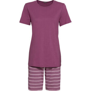 Schiesser Pyjama, 2-teilig, Shorts, T-Shirt, für Damen