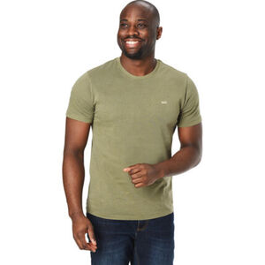 Levi's® T-Shirt, Rundhals-Ausschnitt, modischer Vintage-Look, Label auf Vorderseite, lässig, für Herren