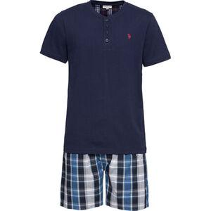U.S. POLO ASSN. Pyjama, 2-teilig, kurz, für Herren