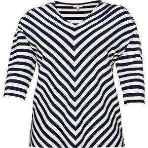 My True Me Sweatshirt, 3/4, gestreift, große Größen, für Damen