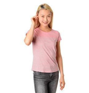 Tom Tailor Denim T-Shirt, Rundhalsausschnitt, Print, Streifen, für Damen