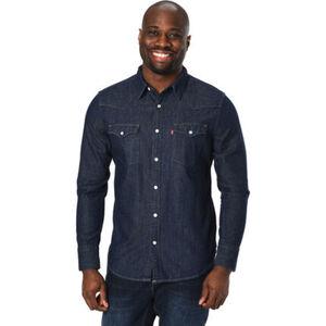 Levi's® Jeanshemd, Langarm, Kent-Kragen, betonte Schulter- und Rückenpartie, Brusttaschen, Klassiker, für Herren