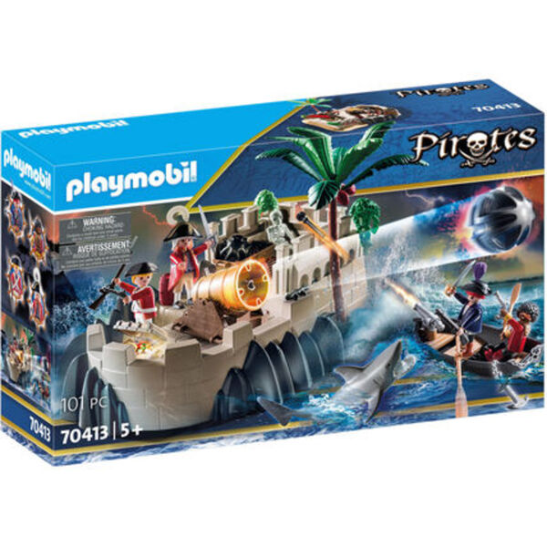 PLAYMOBIL® Pirates - Rotrockbastion 70413