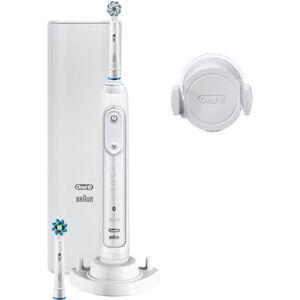 Oral-B Elektrische Zahnbürste Genius 10100S, weiß