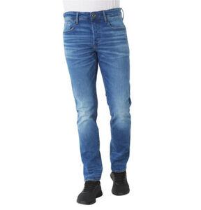 """G-Star Raw Jeans """"3301 Straight Tapered"""", Waschungen, Label-Patch, für Herren"""