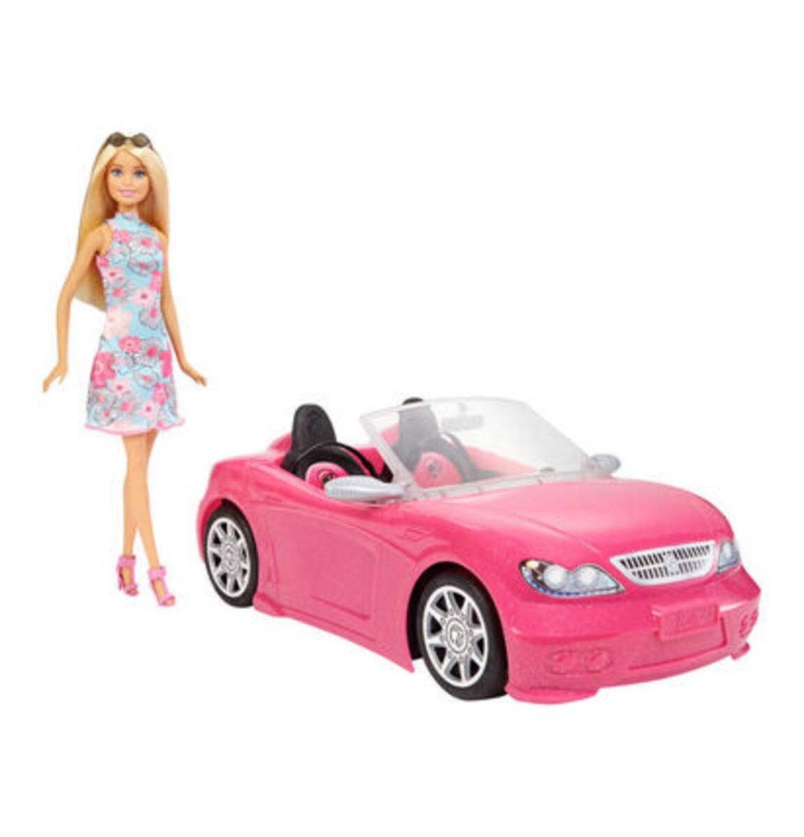 Bild 1 von Barbie Puppe mit Cabrio