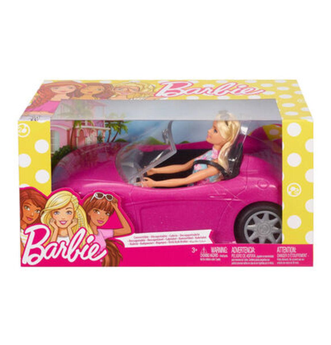 Bild 2 von Barbie Puppe mit Cabrio