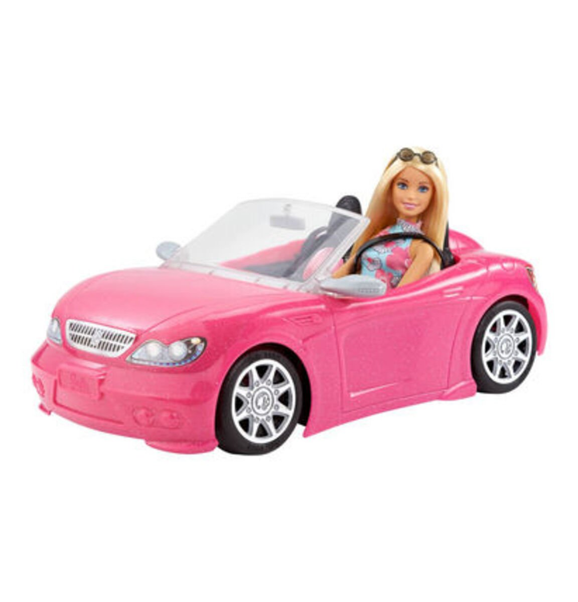 Bild 3 von Barbie Puppe mit Cabrio