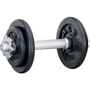 Alex Kurzhantel-Set 10 kg, Hammerschlag, Ø 30/31 mm