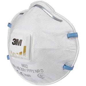 3M Feinstaub-Maske 8822 mit Schutzstufe FFP2