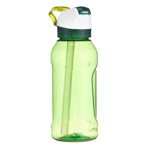 Trinkflasche 900 Schnellverschluss mit Trinkhalm 0,5Liter Tritan grün