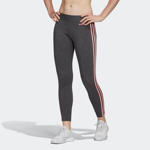 ADIDAS Leggings 3 Streifen Damen grau/rosa