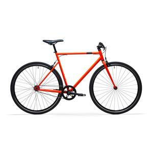 City Bike 28 Zoll Elops Single Speed 500 Singlespeed/Fixie orange
