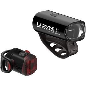Lezyne HECTO DRIVE STVZO 40 + FEMTO STVZO Unisex - Fahrradbeleuchtung