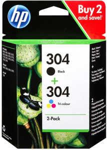 HP  Druckerpatronen »304« Schwarz + Farbe