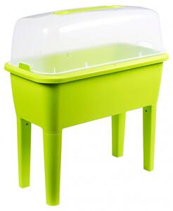 Kunststoffhochbeet, grün