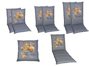 GO-DE Textil Gartenauflage Flower