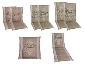 GO-DE Textil Gartenauflage Living Garden