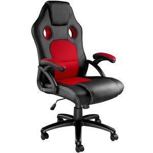Bürostuhl Tyson schwarz/rot