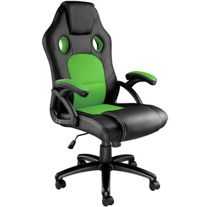 Bürostuhl Tyson schwarz/grün