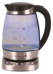 Tarrington House Wasserkocher WK2219GT, 1,7 l, 1850 - 2200 W