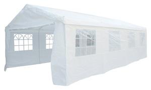 METRO Professional Partyzelt mit 4-teiliger Seitenwand, 4 x 8 m