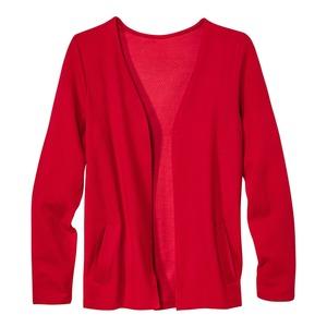 Damen-Shirtjacke mit beeindruckender Struktur