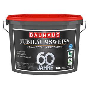 swingcolor Wandfarbe Jubiläumsweiß 60 Jahre BAUHAUS