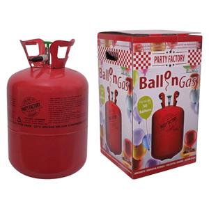 Party Factory Ballongas Helium inkl. 50 Ballons und 100 m Ballonschnur