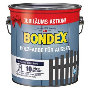 Bondex Holzschutzfarbe Außen Jubiläumsaktion