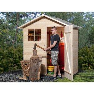 Weka Holz-Gartenhaus Easy Natur BxT: 180 cm x 100 cm