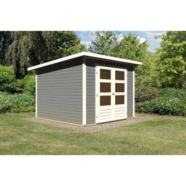 Karibu Holz Gartenhaus Sitten 4 Terragrau B X T 242 Cm X 242 Cm Von Obi Ansehen
