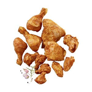 Frische Hähnchen Grillplatte gewürzt, je 1 kg