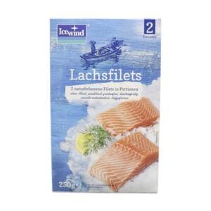 Icewind Lachs-Filets gefroren, jede 2 x 125 g = 250-g-Packung