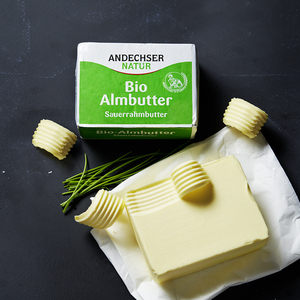 Andechser Natur Bio Almbutter jede 250-g-Packung