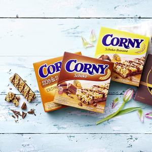 Corny Nussvoll 4 x 24 g oder Corny Müsliriegel 6 x 25 g 96/150-g-Packung und weitere Sorten