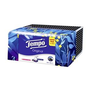 Tempo Taschentücher Superpack oder feuchte Toilettentücher Duo-Vorteilspack versch. Sorten, jede 2 x 80er-Box/2 x 42er-Packung