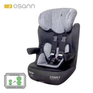 Kindersitz Comet Isofix Klasse 1-3,  für Kinder von 9 - 36 kg